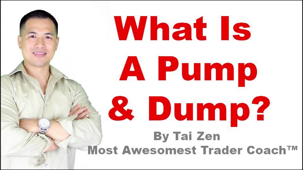 what is pump and dump cryptocurrency