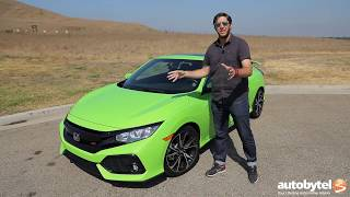 2017 Honda Civic SI Coupe Test Drive Video Review