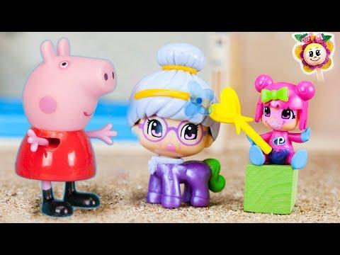 PEPPA PIG: NUEVA TRAVESURA DE LOS BEBES PINYPON! La bebé Pin convierte a la abuela Cloe en Unicornio