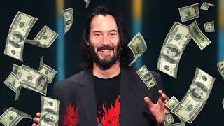 Ile ZAROBIŁ Keanu Reeves dla CD Projekt Red?
