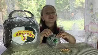 Приручи Дракона 3 Самодельные Сквиши от Мелиссы Видео для детей