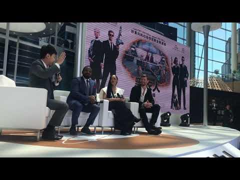 MIB International Tour - China Ft Chris Hemsworth, Tessa Thompson, Gary Gray