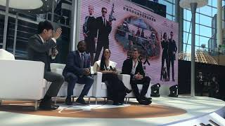 MIB International Tour - China Ft Chris Hemsworth, Tessa Thompson, Gary Gray