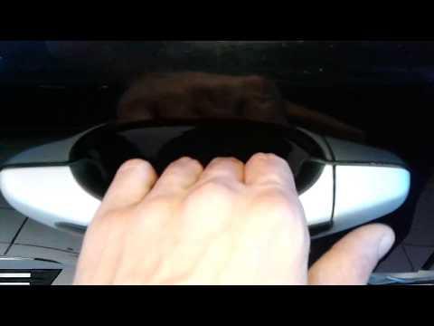 Porsche Cayenne (Порше Кайен): Как открыть заднюю дверь