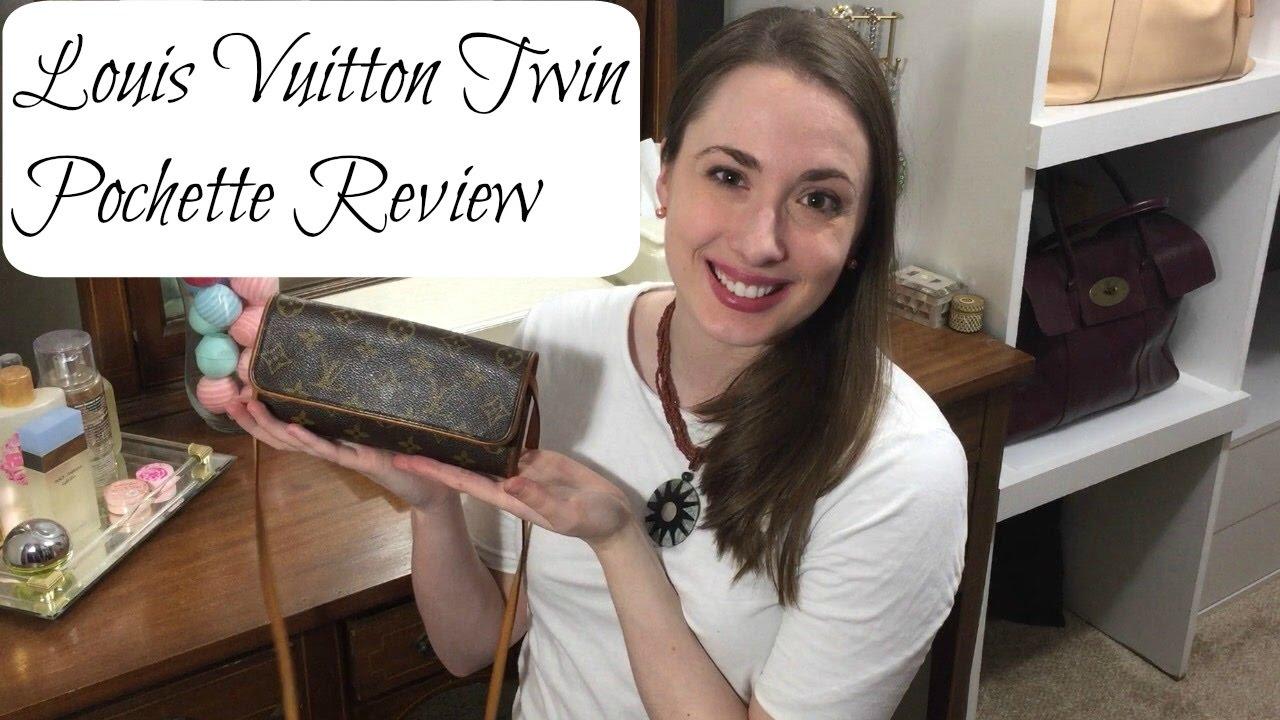 3b21bd98fa2c Louis Vuitton Twin Pochette Review - YouTube