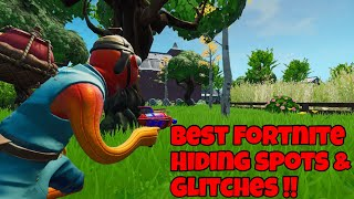The Best Top 5 Fortnite Prop Hunt Spots! (Unknown Invisible Glitch Spot??)