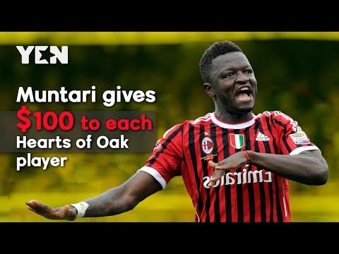 Ghana News: Sulley Muntari Gave $2.200 To Accra Hearts Of Oak Players | Yen.com.gh
