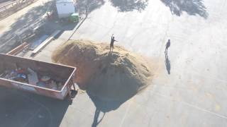 Lagunitas school - dirt mound