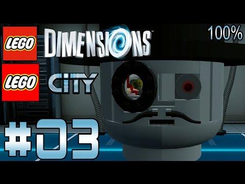 LEGO DIMENSIONS - LEGO CITY PART 3 BLACKWELLS GEHIMBASIS   LET´S PLAY LEGO DIMENSIONS DEUTSCH