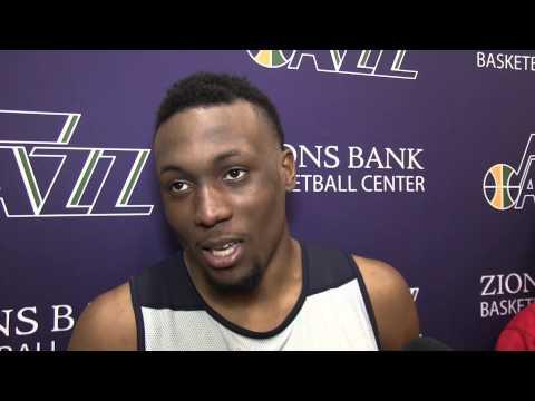 T. J.  Price interview - Utah Jazz workout