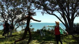 NZ Sculpture on Shore 2012 Janette Miller's visit.flv Thumbnail