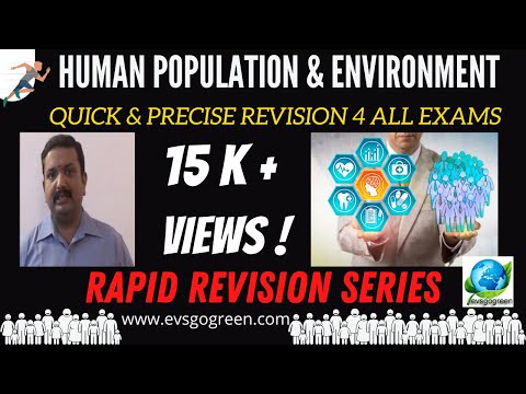 human population video lecture environmental science and engineering