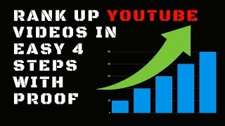 Video SEO - How to Rank YouTube Videos in Easy 4 Steps 2018. YouTube Video On Page SEO