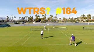 """Volleys - Tennis Doubles Strategy - """"What's The Right Shot?"""" #184"""