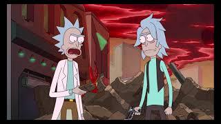 Rick and Younger Rick saving Birdperson   Rick and Morty