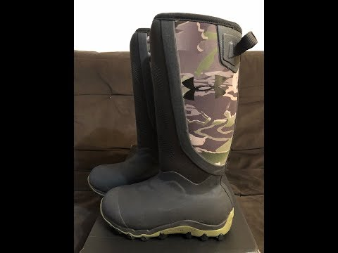 Un Boxing Under Armour Boots Hawgzilla Ridge Reaper Xtra 800g