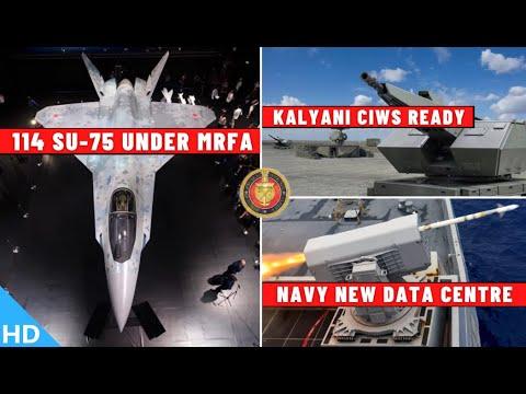 Indian Defence Updates : 114 Su-75 Under MRFA,Kalyani CIWS R