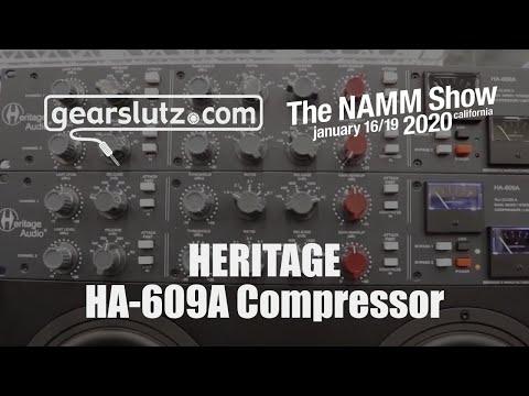 Heritage HA-609A Dual Mono/stereo Compressor - Gearslutz @ NAMM 2020