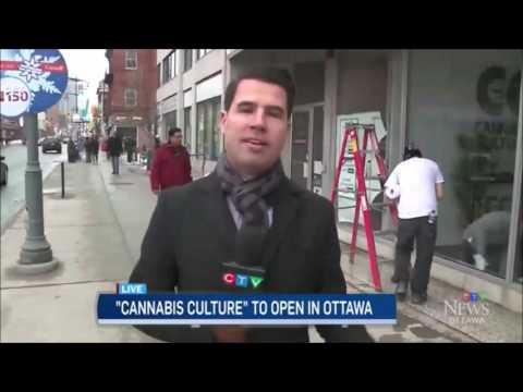 Cannabis Culture store opens in Ottawa
