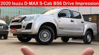 2020 BS6 Isuzu D-Max S-Cab First Drive Impression l Aayush ssm