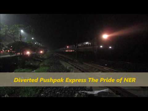 Diverted Pushpak Express The Pride of NER