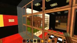 Лучший механический дом в minecraft 1 7 4 by XiTman and CrazyTed full HD, 1080p