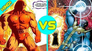 Soulfire Darkseid Vs Thanos With Heart Of The Universe Death Battle [ Explained In Hindi ]