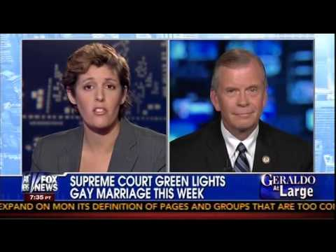 """Rep Walberg discusses the Defense of Marriage Act on """"Geraldo at Large"""""""