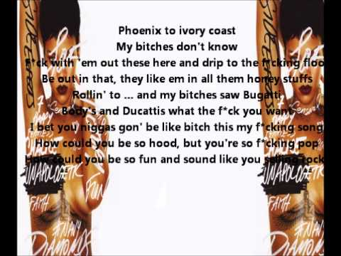 Rihanna - Fresh Off The Runway (Lyrics HQ|HD) [Unapologetic]