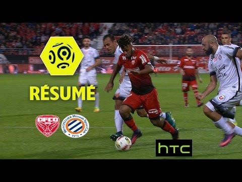 Dijon FCO - Montpellier Hérault SC (3-3)  - Résumé - (DFCO - MHSC) / 2016-17