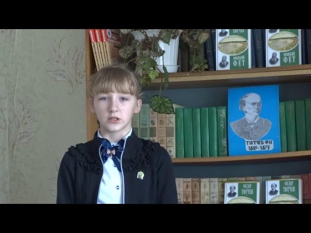 Изображение предпросмотра прочтения – АлександраНоскова читает произведение «Фонтан» Ф.И.Тютчева