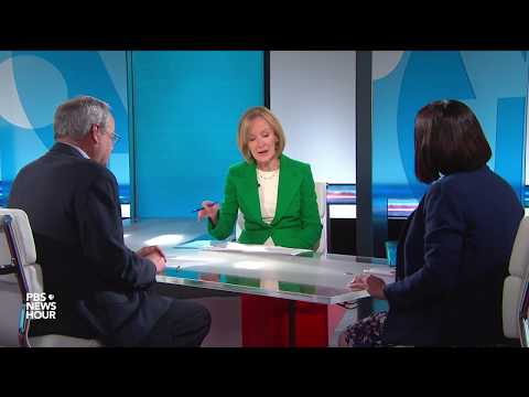 Tamara Keith and Stuart Rothenberg on Trump's immigration tweets, trade war fears