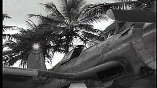 f4u corsair pilots of vmf 214 blacksheep in espiritu santo vanuatu including hd stock footage