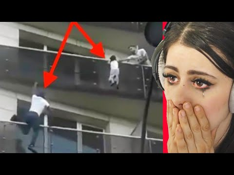 REAL LIFE HEROES Caught On Camera !