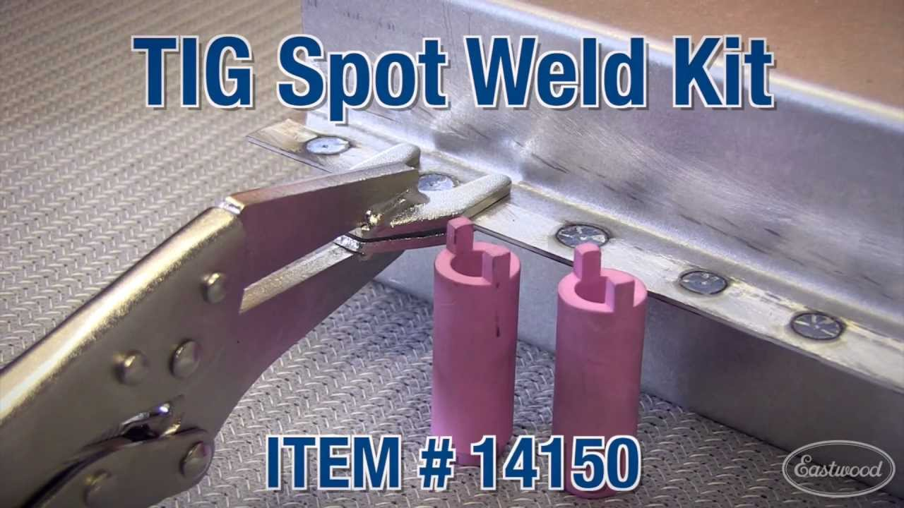 Tig spot weld kit how to from eastwood youtube sciox Gallery
