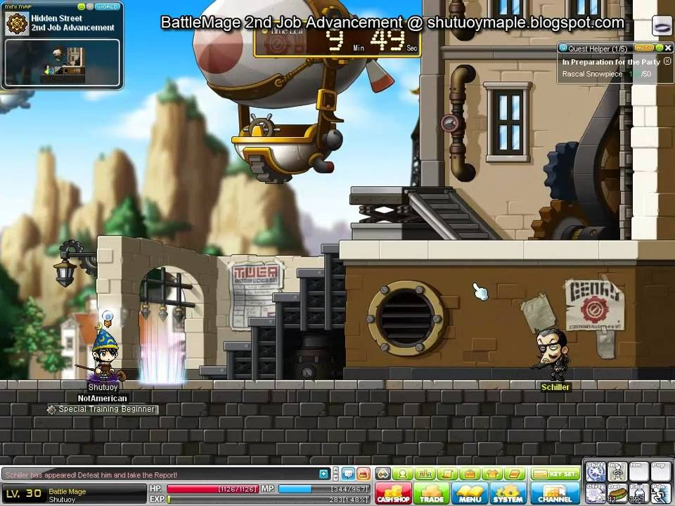 BasilMarket Battle Mage 3rd job Advance thread
