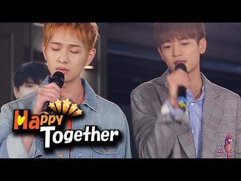 """""""Laundry"""" (Lee Juck) Cover By SHINee! [Happy Together Ep 544]"""