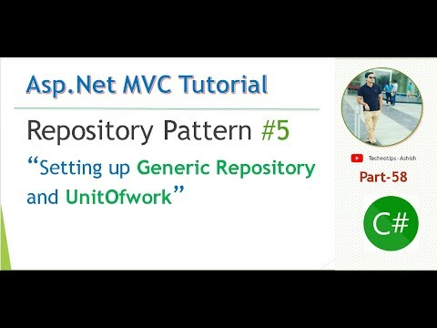 Part 40 Repository Pattern 40 Setting Up Generic Repository Delectable C Repository Pattern