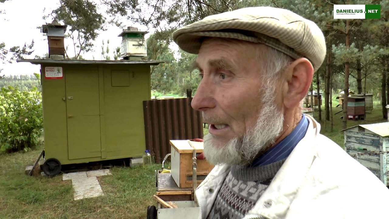 Jonas Jakaitis bitininkas iš Macelių kaimo Varėnos r - YouTube