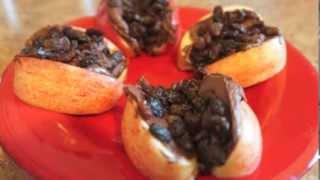 Dark Chocolate Apple & Raisin Crunch