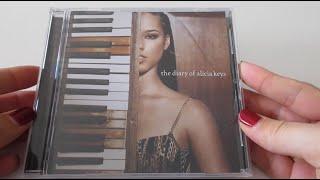 Unboxing: Alicia Keys - The Diary of Alicia Keys album CD (2003)