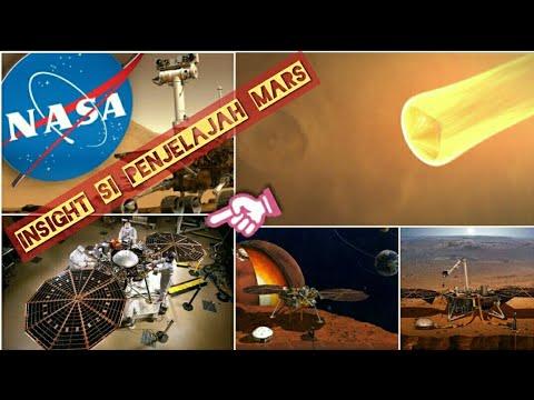 Robot Insight Nasa Mendarat di Mars Bahasa Indonesia - Nasa InSight Mission Landing On Mars Mp3