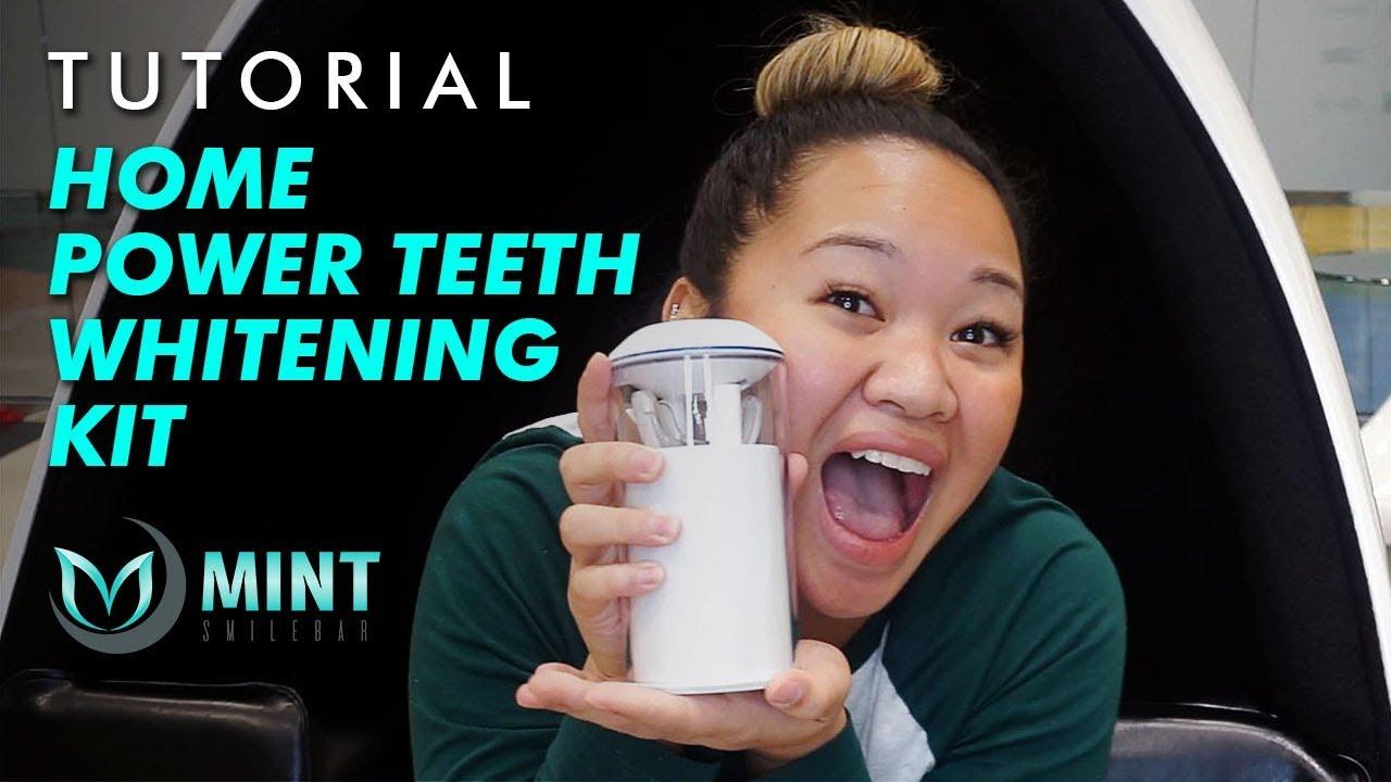 Tutorial | Home Power Teeth Whitening Kit