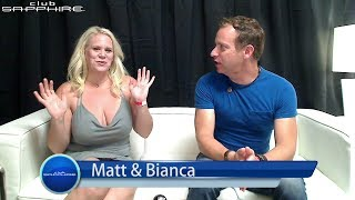 Penis Size and Keeping an Erection in the Lifestyle - Matt & Bianca