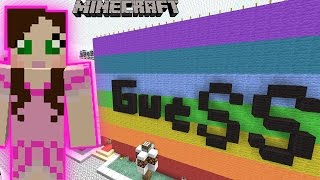 Minecraft: GUESS WHO GAME! - PAT & JEN THEMEPARK [7]