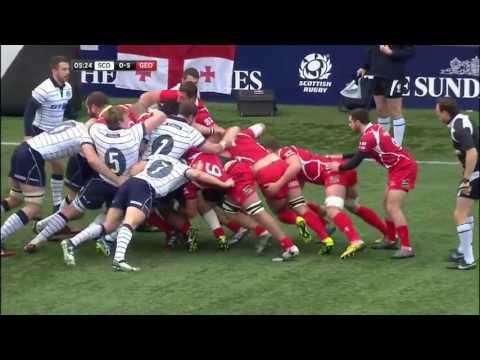 Rugby union 2016 Georgia vs Scotland   Autumn international