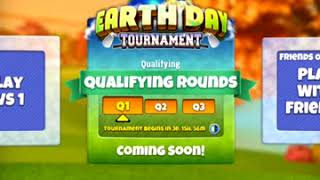 Golf Clash tips, Earth Day Tournament - Starts the 16th of April!