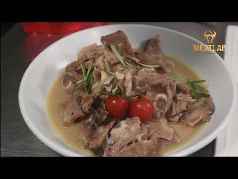 MeatLab Lamb Shabu - Memasak dengan cara Microwave