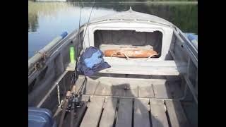 Лодочный электромотор WATERSNAKE Tracer / SXB 54TH-26  54lbs(Тест - драйв на катере. Проверяем скорость и ходовые качества., 2014-06-17T20:12:19.000Z)