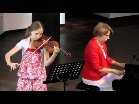Renee Vogels playing Suite in the Old Style by A. Schnittke (Part 1/2)